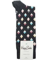 Happy Socks | Mini Diamond Socks | Lyst