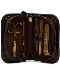 Barbour - Tartan Manicure Kit - Lyst
