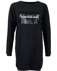 Calvin Klein - Short Dresses - Lyst