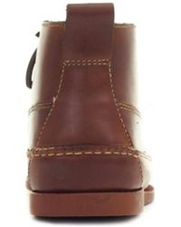 G.H. Bass & Co. | Ranger Pull Up Leather Mid Boots | Lyst