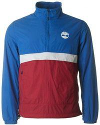 Timberland - Packaway Pullover Half Zip Jacket - Lyst