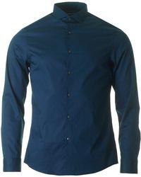 Michael Kors - Slim Fit Cotton Stretch Shirt - Lyst