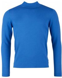 J.Lindeberg - Newman Turtle Neck Knit - Lyst