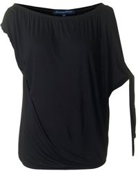 French Connection - Tanna Jersey One Shoulder Top - Lyst