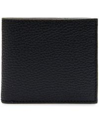 Barbour - Grain Leather Billfold Wallet - Lyst