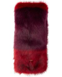 Barts - Pleased Faux Fur Scarf - Lyst