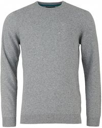 Barbour - Lambswool Crew Neck Knit - Lyst