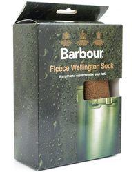 Barbour - Fleece Wellington Socks - Lyst