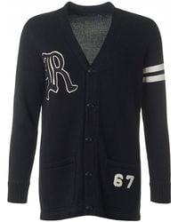 Polo Ralph Lauren - Varsity Oversized Cardigan - Lyst