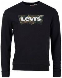 Levi's - Camo Housemark Crew Neck Sweatshirt - Lyst