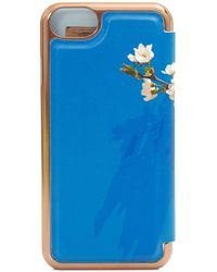 Ted Baker - Harmony Print Mirror Iphone 7 Case - Lyst