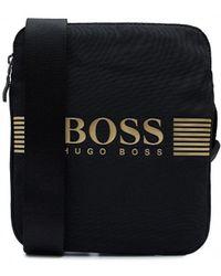 BOSS - Pixel S Zip Pouch Bag - Lyst