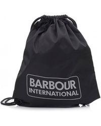 Barbour - International Race Gymsack - Lyst
