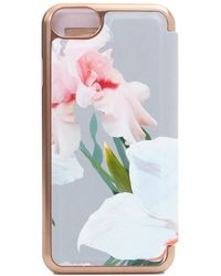 Ted Baker - Chatsworth Mirror I Phone 7 Case - Lyst
