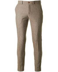 Gibson London - Donegal Slim Fit Trousers - Lyst