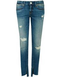 True Religion - Halle Distressed Jeans - Lyst