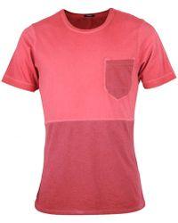 Denham - Cut And Sew Pocket - Lyst