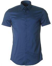 BOSS Black - Jill Short Sleeved Stretch Shirt - Lyst