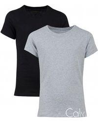 Calvin Klein - 2 Pack Of Short Sleeved - Lyst