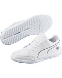 218f6d46409190 Lyst - Puma Bmw Ignis Nm Men s Shoes in White for Men