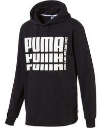 9bce8abf6eb9dd Lyst - PUMA Men s Rebel Sleeveless Hoodie in Black for Men