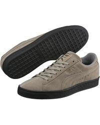 b2f70c63cd113e Lyst - Puma Bioweb Elite Glow Round Toe Canvas Running Shoe in ...