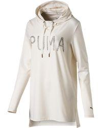 PUMA - Holiday Hooded Dress - Lyst
