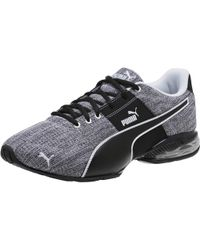 7aeed6ae25f31e Lyst - PUMA Tsugi Netfit V2 Black-white-black Running Shoes 36539802 ...