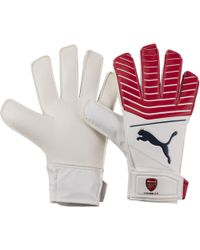 PUMA - Arsenal One Grip 17.4 Jr Goalkeeper Gloves - Lyst
