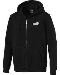PUMA - Essentials Fleece Hooded Jacket - Lyst