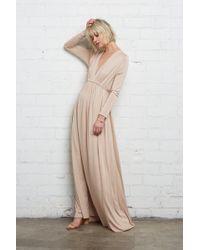 Rachel Pally - Long Sleeve Full Length Caftan - Bamboo - Lyst