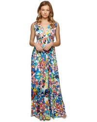 Rachel Pally - Long Sleeveless Caftan Print - Flores - Lyst