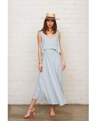 Rachel Pally - Linen Tamar Skirt - Bluebell - Lyst