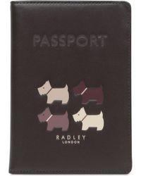Radley - Quad Dog Passport Cover - Lyst