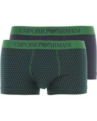 Emporio Armani - Caleçon Boxer Homme - Lyst