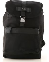 a11697b24839 Michael Kors Owen Leather Backpack in Blue for Men - Lyst