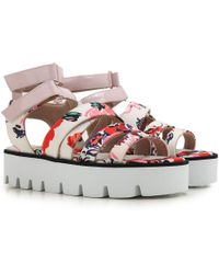 MSGM - Sandals For Women On Sale In Outlet - Lyst