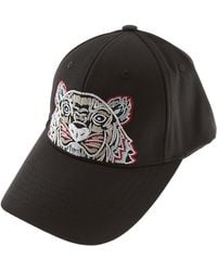 KENZO - Tiger-embroidered Canvas Twill Cap - Lyst dbcec8a3fa