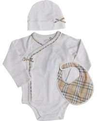 Burberry - Baby Sets For Girls On Sale - Lyst