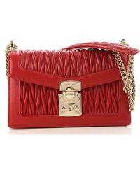 60fa90be1585 Miu Miu - Shoulder Bag For Women On Sale - Lyst