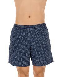 Alexander McQueen - Swim Shorts Trunks For Men On Sale In Outlet - Lyst