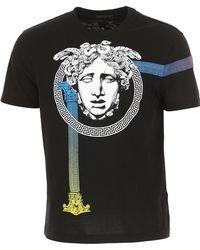 Versace - T-shirt 'Medusa capitello' - Lyst