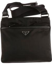 Lyst - Prada Nylon Waist Bag in Black for Men 8e1da5c451615