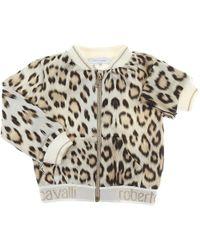 Roberto Cavalli - Baby Sweatshirts & Hoodies For Girls - Lyst
