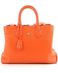 1c4707b056 Vivienne Westwood Leopardmania 13947 Yasmine Bag Orange in Orange - Lyst