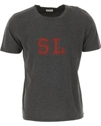 Saint Laurent - T-Shirts für Herren - Lyst