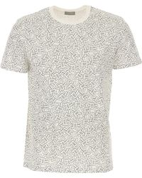 24c0cf80 Dior Polo Shirt in White for Men - Lyst