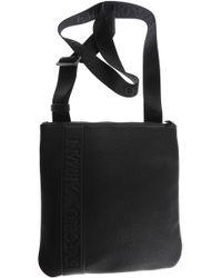d41d187d3dcb Emporio Armani Bags For Men in Black for Men - Lyst