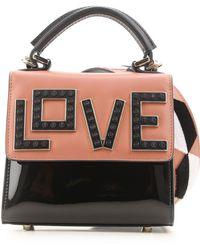 Les Petits Joueurs - Top Handle Handbag On Sale In Outlet - Lyst