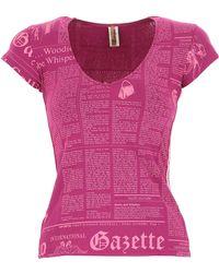 John Galliano - T-shirt For Women On Sale - Lyst